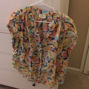 Cute blouse from Anthropologie